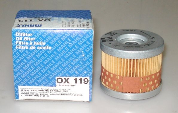Knecht (Mahle Filter) OX119