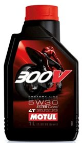 MOTUL 300V 4T Factory Line Road Racing SAE5W-30