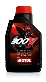 MOTUL 300V 4T Factory Line Road Racing SAE5W-40